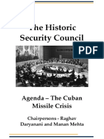 The Historic Security Council StudyGuide