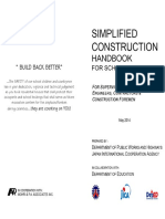 Simplified Construction Handbook