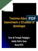 Doenças, Deficiências e T.G.D