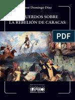 Recuerdos Rebelion Caracas