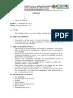 Informe Pulsadores e Interrupciones