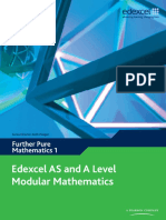 IAL Mathematics Sample Assessment Material   Gce Advanced