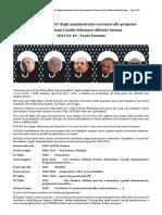 """2016 01 10 - L'""""impermeabilità"""" degli amministratori savonesi alle proposte del Comitato Casello Albamare Albisola Savona"""