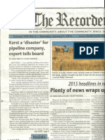 The Recorder-Volume 139, No 1-Page 1