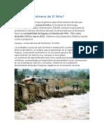 Qué Es El Fenómeno de El Niño