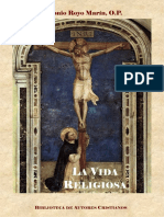Royo Marin, A-la Vida Religiosa