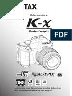 Pentax K-X Manual