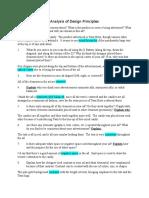 analysis of design principles - nickolas greene