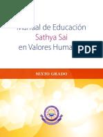 Manual de Educación Sathya Sai en Valores Humanos