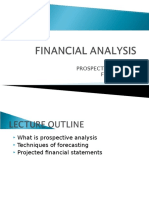 Lecture 10 - Prospective Analysis - Forecasting
