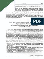 Methods Enzymol_161 - Manganese Peroxidase of Phanetochaete Dhrysosporium Purification