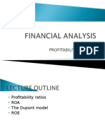 Lecture 6 - Profitability Analysis