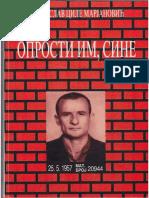Dragoslav Cile Marjanović - Oprosti im, sine