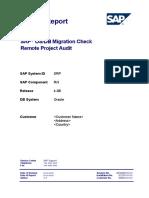 Osdb Sample Report