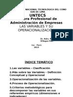 Tesis 9 Las Variables y Su Operacionalización