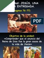 1a Unidad JESÚS, UNA VIDA ENTREGADA.ppt