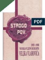 Veljko Vlahović - Strogo poverljivo 1955-1958