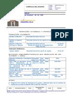 Curriculo de Antonio Leonardo Delgado Arenas