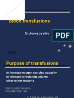 20. Blood Transfusions