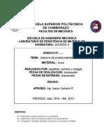 """""""ENSAYO DE DUREZA BRINELL"""