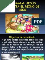 6ta Unidad Jesús Anuncia El Reino de Dios