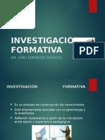 1. Investigación formativa