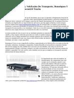 Venta De Camiones, Vehículos De Transporte, Remolques Y Caravanas En Autoscout24 Trucks