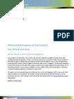 Microsoft Compliance Framework
