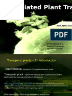 agrobacterium mediated gene transfer-130709035850-phpapp01