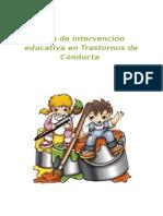 Guia de Intervencion Educativa en Trastornos de Conducta