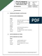 Operacionesderespuesta1( Plan de Contingencia)