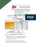 MegaMillions Pool Calculator Modified