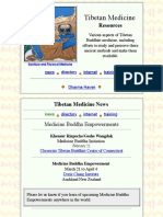 Tibetan Medicine Resources