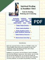 Spiritual Healing in Buddhist Tibet