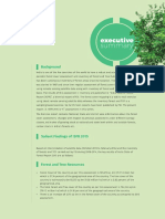 Indian state forest report 2015 Executive Summary