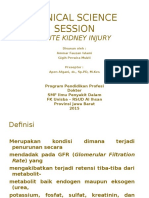 Referat Acute Kidney Injury / Acute Renal Failure