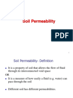 Permeability and seepage