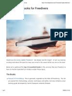 10 Essential Books for Freedivers – DeeperBlue.com