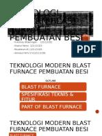Teknologi Modern Blast Furnace Pembuatan Besi