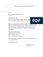 Surat Permohonan Keringanan Biaya Kuliah