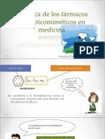 Quimica de Los Simpaticomimeticos