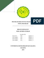 Kerangka Proposal PKM AI 2015