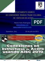 Comportamiento Sismico Conexiones Curso CICQ