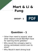 Wal-Mart & Li & Fung