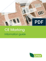 Liniar CE Marking Information
