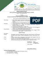 contoh SK Kepengurusan CV
