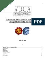 2015 WSDT Paradigms