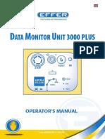 EFFER CRANE Dmu 3000 Plus-manual