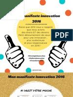 Mon Manifeste Innovation 2016