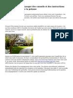 Aménagement paysager des conseils et des instructions pour les Rangers de la pelouse